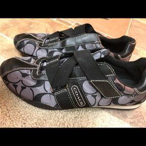 Coach tennis shoes - Sz8